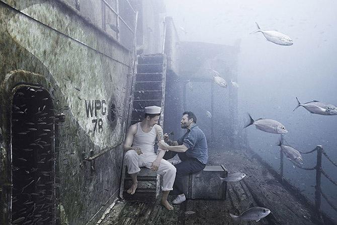 Подводный мир фотографа и дайвера Андреаса Франке (13 фото)