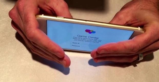 Iphone 6 сломался под давлением рук (1 фото + 1 видео)