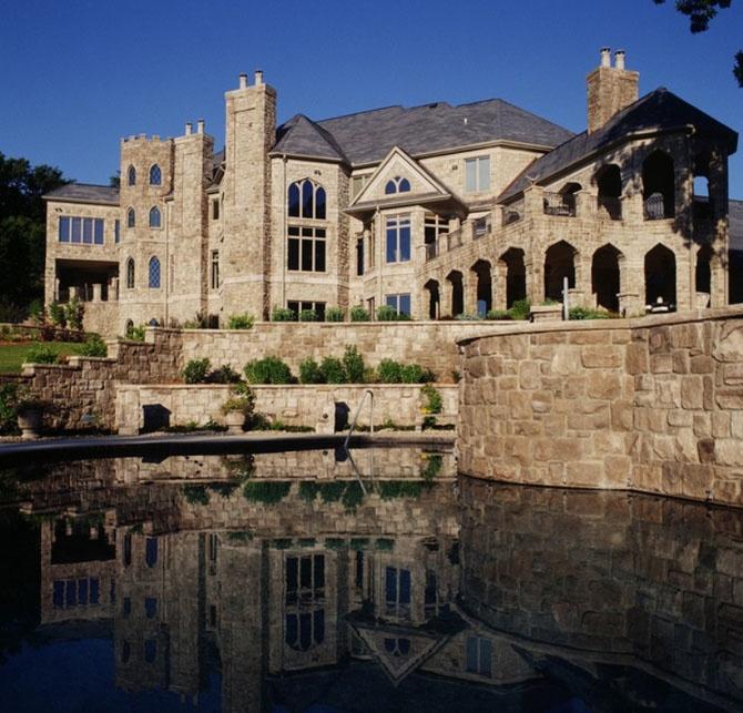 Современные замки богатых людей (23 фото)
