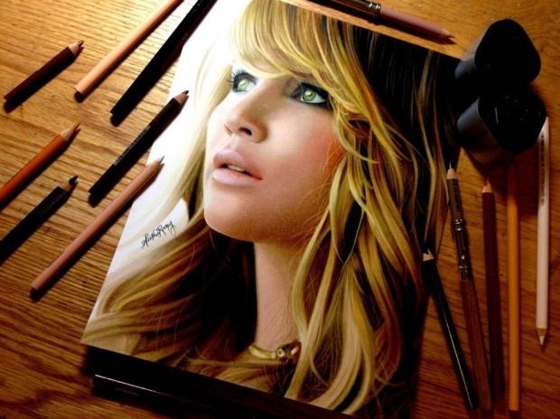 Нереально реалистичные рисунки (16 рисунков)
