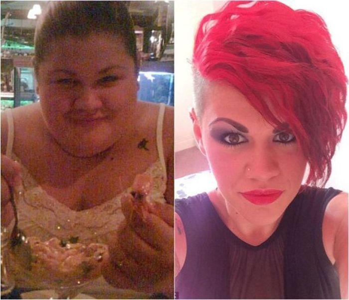 Удивительная история похудения и трансформации тела Джоан Купер (13 фото)