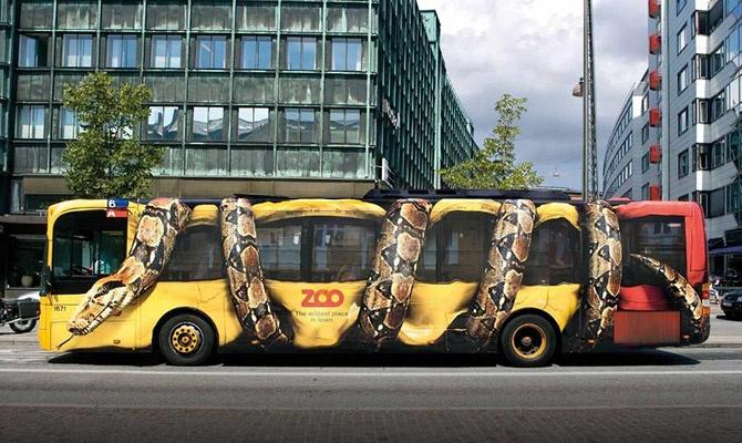 40 креативных рекламных принтов (41 фото)