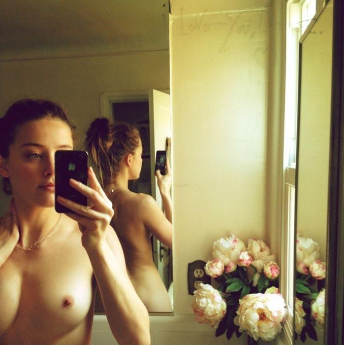 Откровенные частные снимки Эмбер Хёрд с iCloud (26 фото)