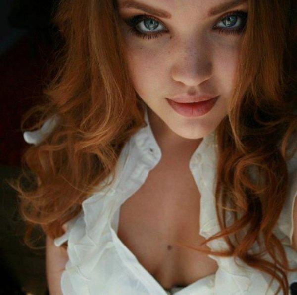 Рыжеволосые девчонки (19 фото)