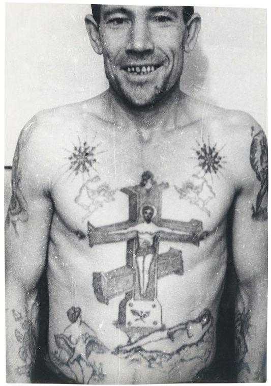 Топ тюремных татуировок времен СССР и их описание (18 фото)