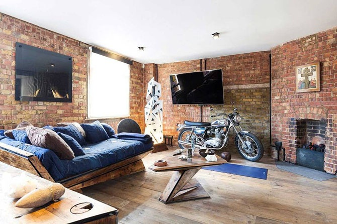 Интерьер многомиллионной квартиры в центре Лондона (8 фото)