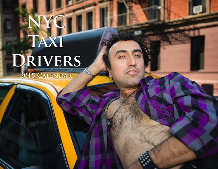 Календарь на 2015 год от таксистов (8 фото)