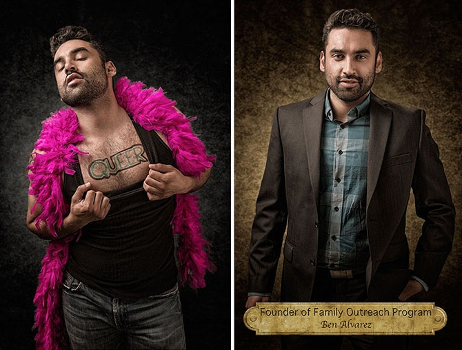 Портреты, разбивающие стереотипы (11 фото)