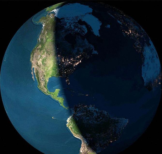 Один день из жизни планеты Земля (33 фото)