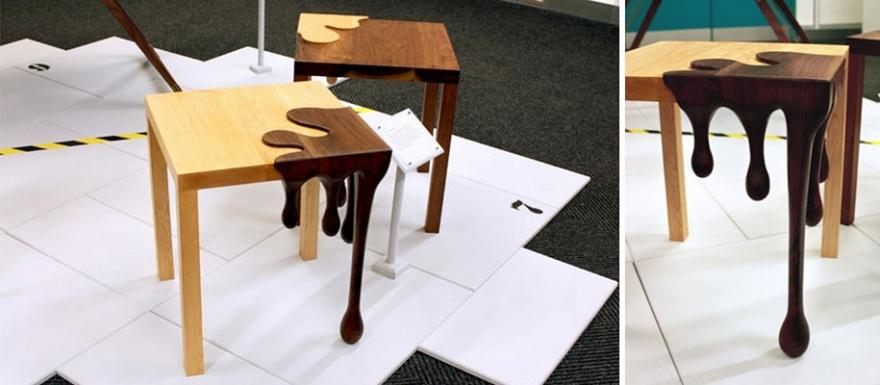 Самые необычные дизайнерские столы (26 фото)