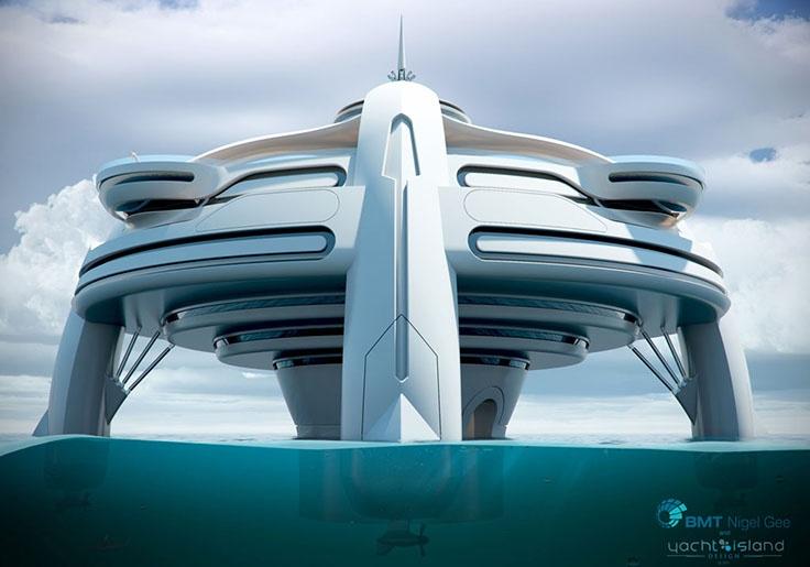 10 потрясающих «суперяхт» будущего (34 фото)