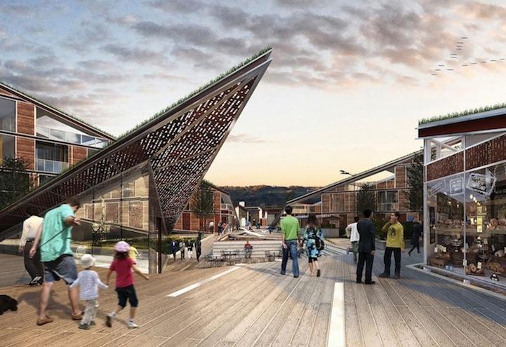 """""""Площадь бабочек"""": архитектурный комплекс, привлекающий редких птиц и насекомых (7 фото)"""