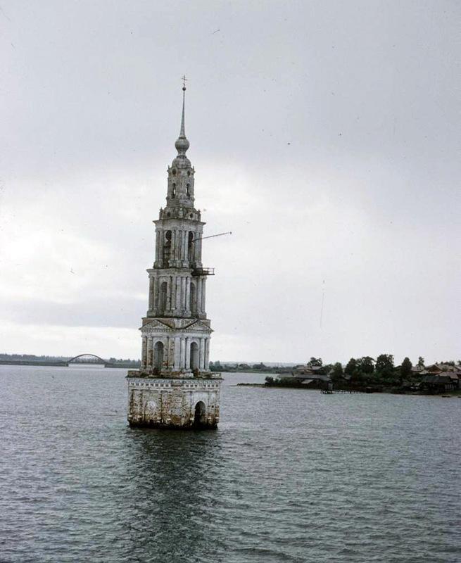 Цветные фотографии России от Москвы до Астрахани 1958 года (33 фото)