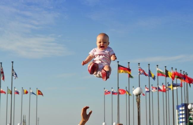 Самый счастливый момент в детстве (18 фото)