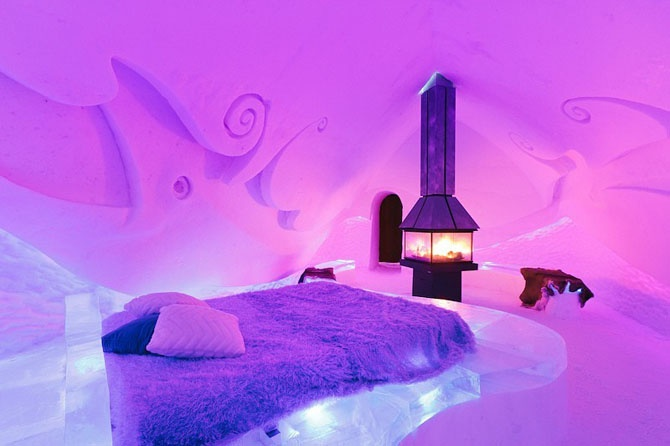 20 самых крутых гостиничных номеров со всего света (21 фото)