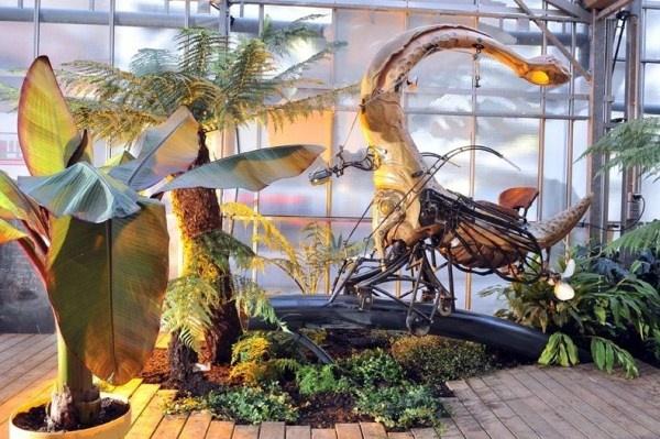 Фантастический парк в городе Нант (20 фото)