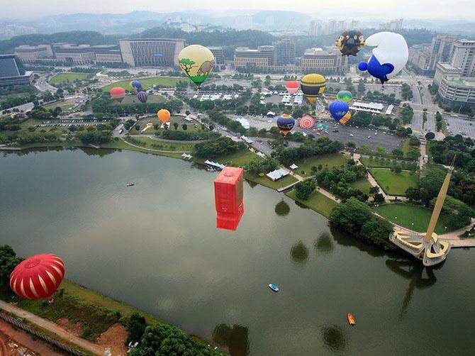 Самые зрелищные фестивали воздушных шаров (25 фото + 2 гифки)