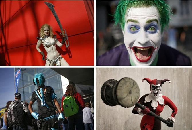 Невероятные костюмы участников фестиваля Comic Con 2014 (27 фото)