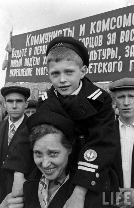 Фотографии Москвы 1947 года от журнала LIFE (36 фото)