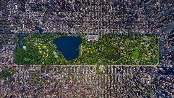 Как из грязи сделали самый красивый парк (12 фото)