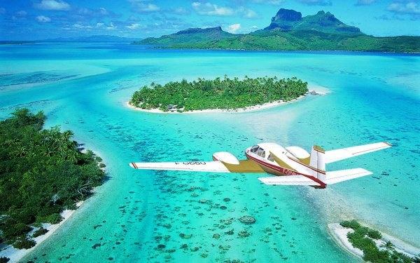 Райский остров Бора-Бора (17 фото)