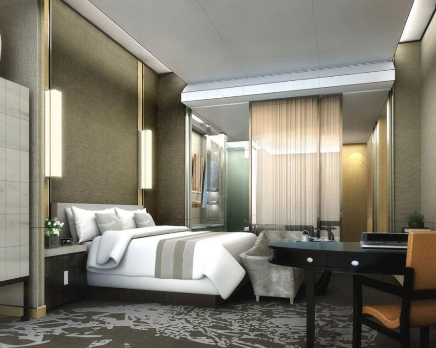 В Пекине появится отель в форме восходящего солнца (5 фото)