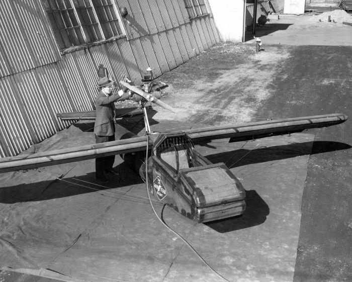Инфлатоплан - надувной спасательный самолет армии США (16 фото)