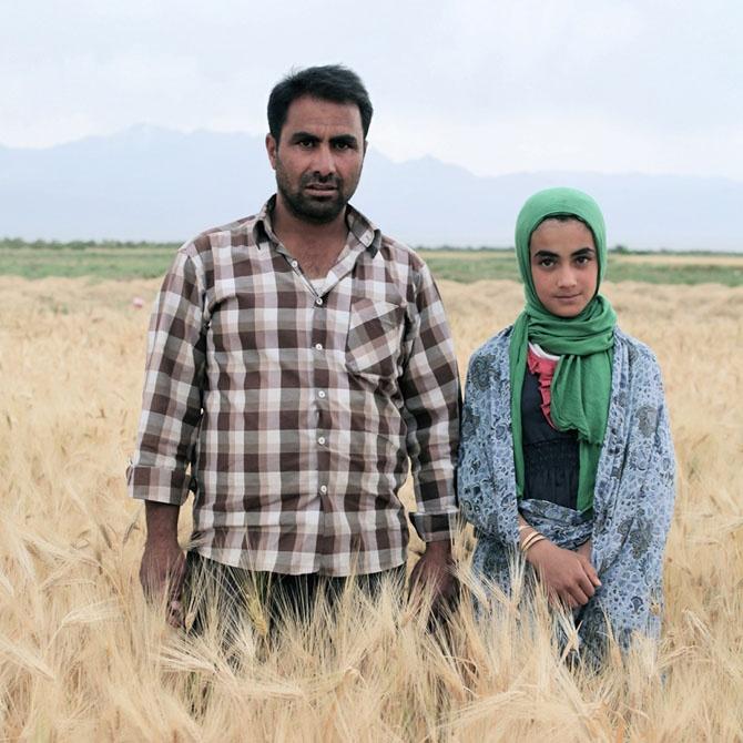 Иранские отцы и их дочери (9 фото)