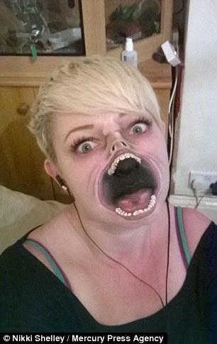 Мастерица, постигшая секреты пугающего грима (16 фото)