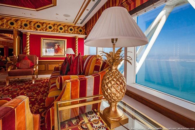 Как выглядит самый дорогой номер в семизвездочном отеле Дубая (52 фото)