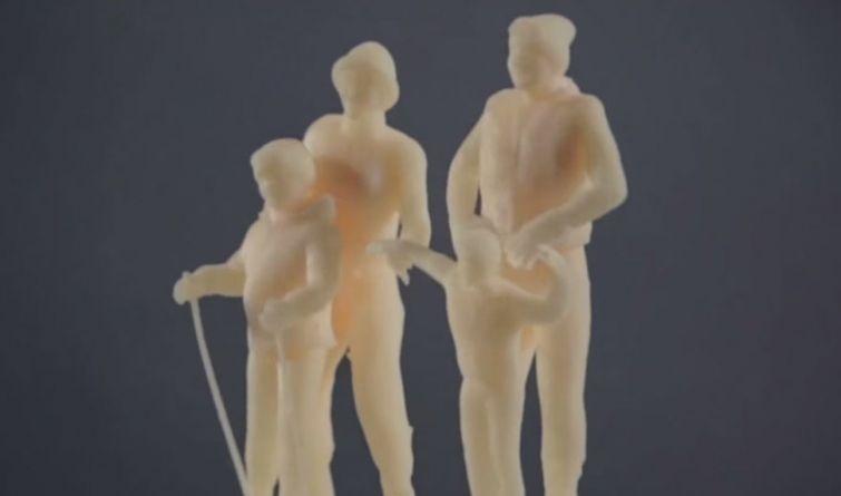 3D фотографии для ослепших людей (14 фото + 1 видео)