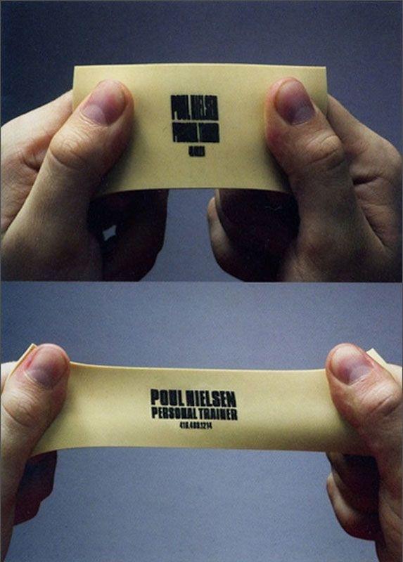 Креативные визитные карточки (20 фото)