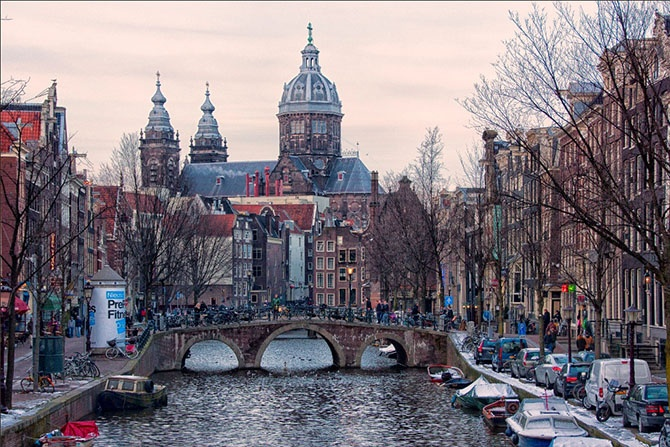 Амстердам в цифрах и фотографиях (20 фото)
