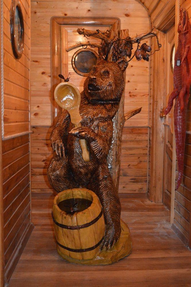 Как из дерева создают шедевры (20 фото)