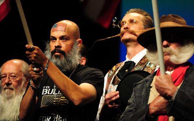 Участники Мирового чемпионата бороды и усов 2014 года (12 фото)