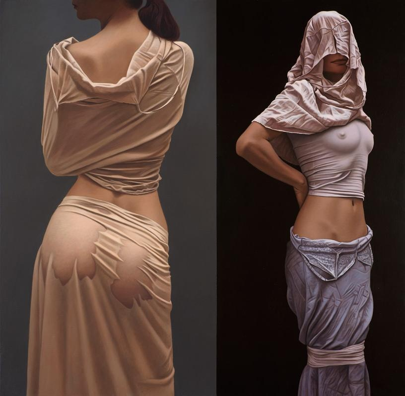 Тонкое ню в картинах Вилли Киссмера (10 фото)