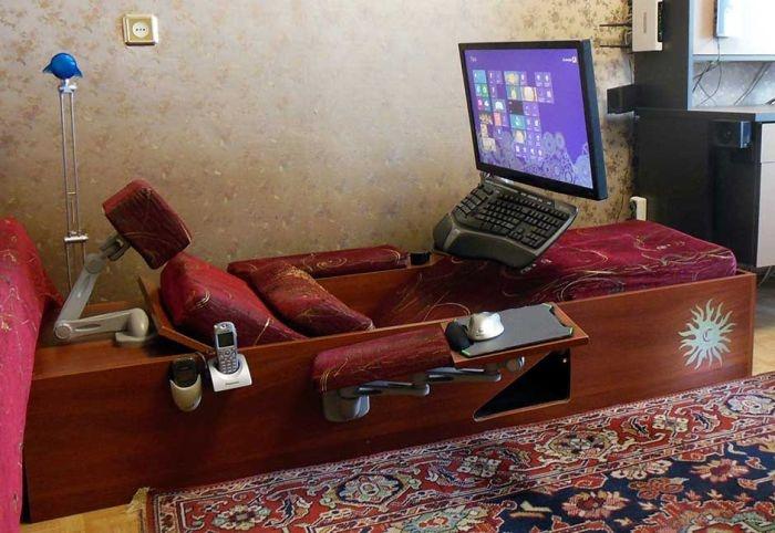 Отдых за компьютером (4 фото)