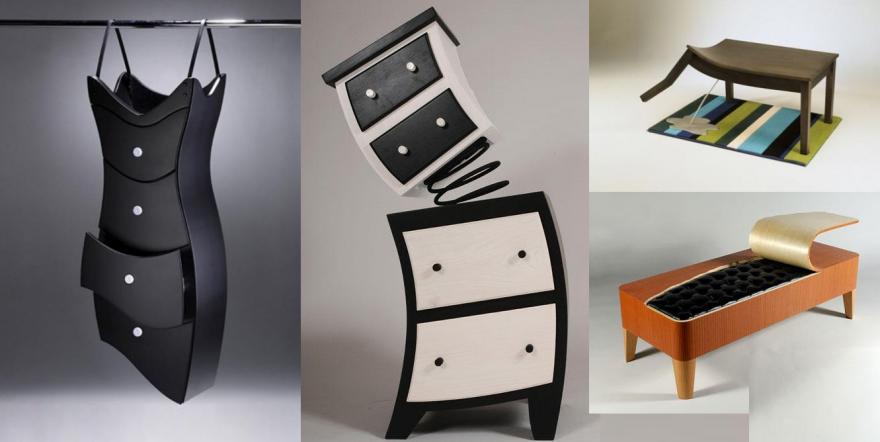 Интересная мебель для интерьера детской комнаты (12 фото)