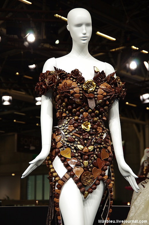 Как в Париже проходит выставка шоколада 2014 года (27 фото)