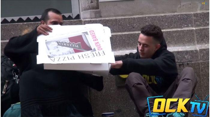 Социальный эксперимент c пиццей в Америке (19 фото)