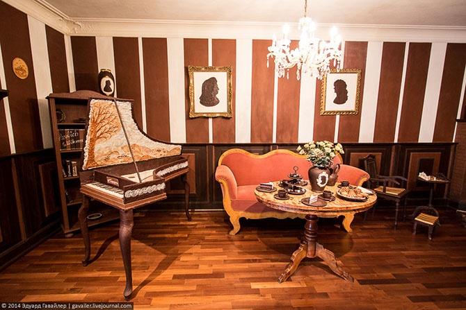 Экскурсия в шоколадную комнату (27 фото)