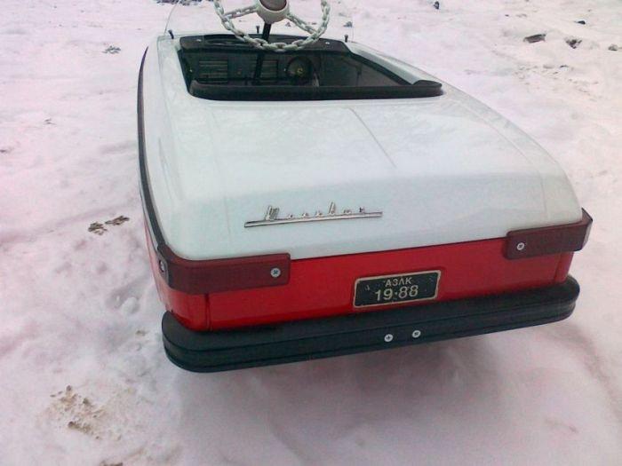 Как реставрировалась детская педальная машина «Москвич» (56 фото)