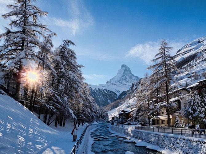 25 живописных городов, которые становятся еще прекраснее с приходом зимы (25 фото)