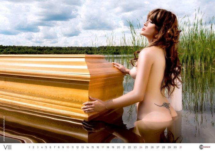 Календари от компании LINDNER с милыми девушками (66 фото)