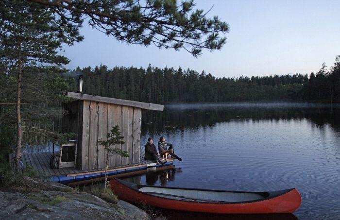 Швеция: уникальный отель вдали от цивилизации (19 фото)