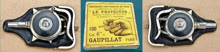 Cамовзводный револьвер «Le Protector» для самообороны 1882 года (14 фото)