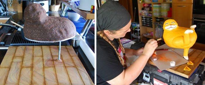 Торты, которые очень жалко есть (34 фото)