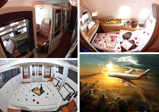 Самые роскошные авиарейсы мира (26 фото)