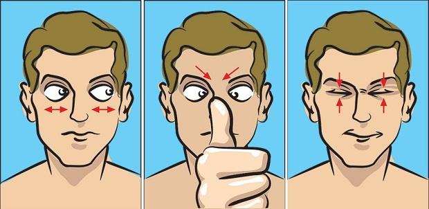 5 упражнений для тех, кто вечно пялится то в монитор, то в смартфон (6 фото)