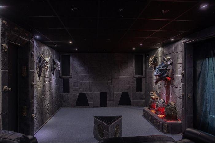 Швеция: дом поклонника фантастики выставлен за 320 000$ (21 фото)